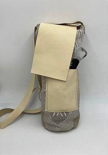 Wine bag - Cream/Gray
