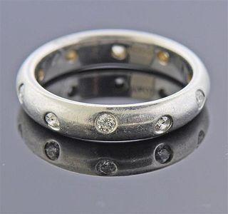 Tiffany & Co Platinum Diamond Etoile Band Ring