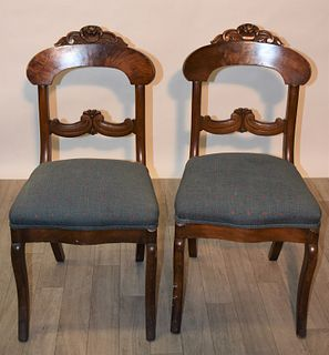 Victorian Side Chairs (Pair)