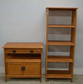 Quality Mission Style Shelf and Stand