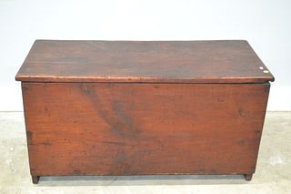 19th C Wood Box with 6 Board Construction