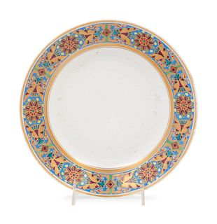 A Russian Porcelain Plate from the Gothic Service