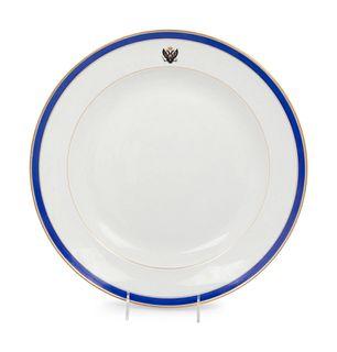 A Russian Porcelain Platter from the Tsarskoe Selo Service