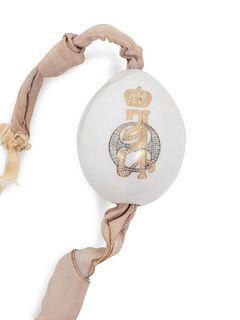 A Russian Porcelain Red Cross Easter Egg