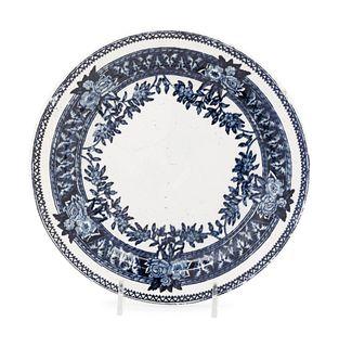 A Russian Porcelain Plate