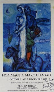 Marc CHAGALL (1887-1985) Russian/French