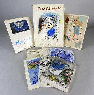 Nine Various Books, Marc Chagall
