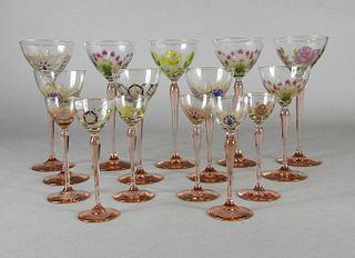 Crystal Stemware, J&L Lobmeyr Hoffmann, 1917