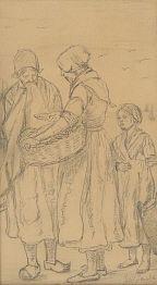 Jozef ISRAELS (1824-1911) Dutch