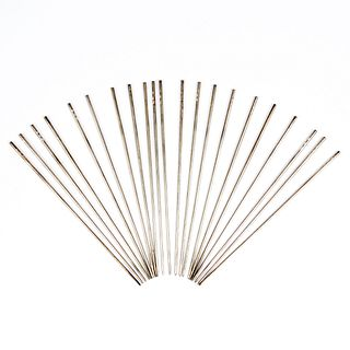 Grp: Japanese Silver Hair Pins