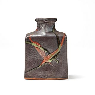 Style of Kawai Kanjiro Studio Pottery Vase