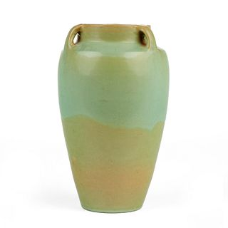 Rhead Santa Barbara Pottery Large Vase - 11 In