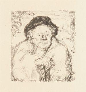 """Pierre Bonnard """"Portrait of a Man"""" from Daphnis et Chloe"""