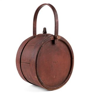 Revolutionary Era Wooden Canteen - Freemason
