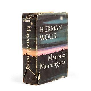 """1st Ed. Herman Wouk """"Marjorie Morningstar"""" 1955 - Signed"""