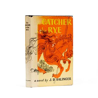 "J.D. Salinger ""Catcher in the Rye"" 1st BCE 1951"