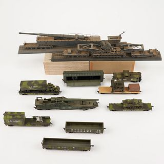 Grp: Military Trains US & German HO Scale