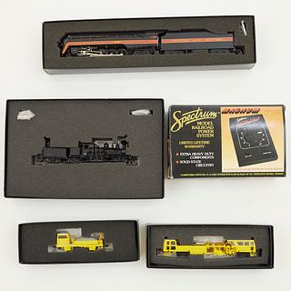 Grp: Spectrum HO Scale Train Maintenance Of Way Vehicles