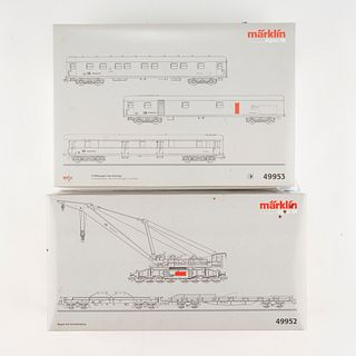 Grp: 2 Marklin HO Scale Trains - 49952 & 49953