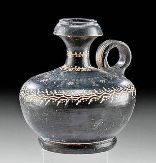 Important Gnathian Teano Ware Polychrome Guttus