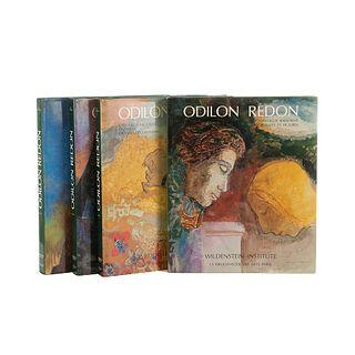 Wildenstein, Alec. Odilon Redon: Catalogue Raisonné. Paris: Wildenstein Institute, 1992, 1994, 1996, 1998. Tomos I - IV. Piezas: 4.