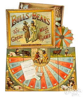 McLoughlin Bros. Bulls and Bears - Wall Street