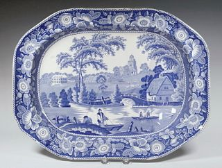STAFFORDSHIRE DEEP WELL PLATTER