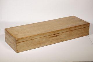 SCRUBBED PINE STORAGE BOX