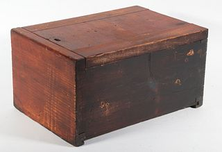 EARLY DOVETAILED BOX
