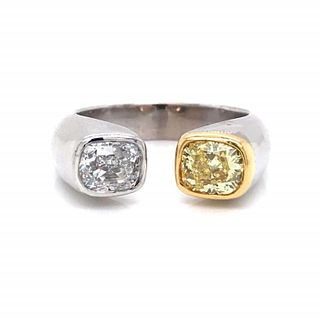 2.01 Ct GIA Certified Diamond Ring