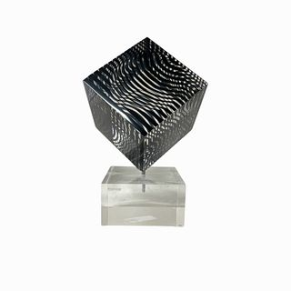 (3) 1970s Vintage Victor Vasarely Cube
