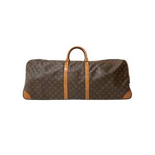 Louis Vuitton Monogram Leather Duffle Travel Bag