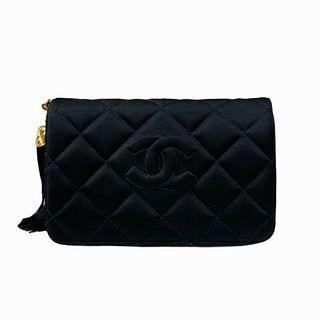 Vintage Chanel Classic Black Quilted Bag