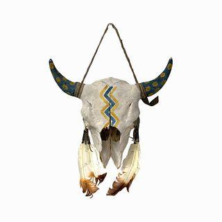 Native American Bull Skull