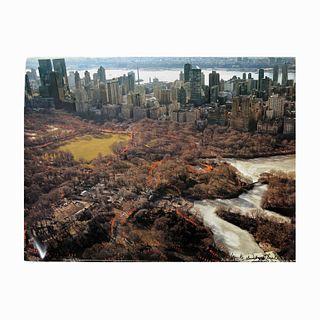 "Christo ""The Gates XXVII"", Central Park NY, 2005"