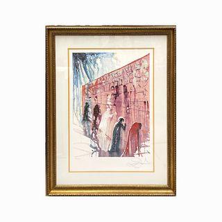 "Salvador Dali ""Western Wall"""
