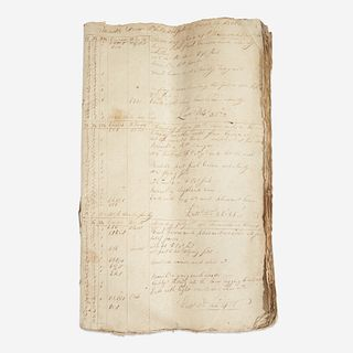 A merchant ship's logbook for the Brig Lovely Lass from Philadelphia to Batavia June 29, 1805-August 23, 1806, Jno. B. Hodgson, Master