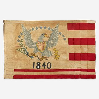 "A 13-Star American Flag associated with pre-statehood California dated, ""1840"""