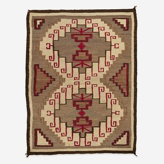A Navajo Rug probably Crystal, New Mexico, early 20th century