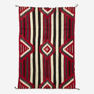 A third phase Navajo Chief's blanket late 19th/early 20th century