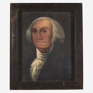 American School 19th century Portrait of George Washington (1732-1799)