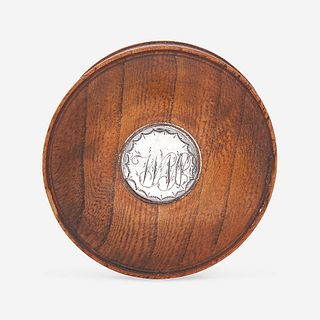 "A patch box made from William Penn's ""Treaty Elm"" early 19th century"