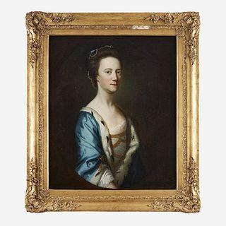 English School 18th century Portrait of Lady Elizabeth Barnewall (c. 1720-c. 1800)