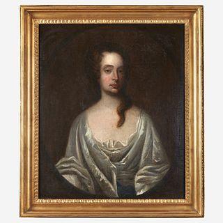 English School 18th century Portrait of a Lady