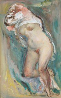 Jon Corbino (NY, FL, MA 1905-1964) Nude