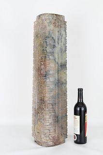 Large Neolithic Jade Chinese Cong Vase