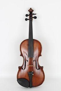 Antique Violin, Bernadel Paris 1834 Label