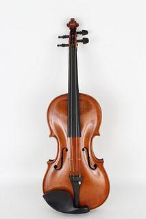 Antique Violin, Jacobus Stainer 1764 Label