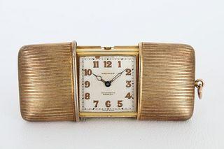 Movado Ermeto 0935 Sterling Pocket Watch