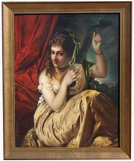 19th C. Signed Continental School Painting